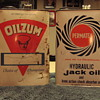 Oilzum And Permatex Cans