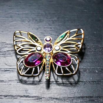 Swarovski Butterfly - Costume Jewelry