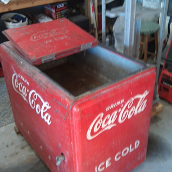 coke ice chest - Coca-Cola