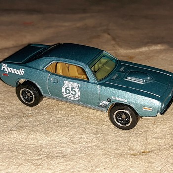 More Memorial Matchbox Monday '70 Cuda 65th Matchbox Anniversary 2018 - Model Cars