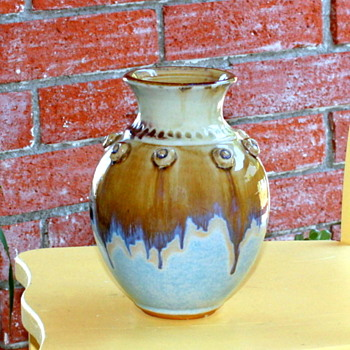 Unknown Stoneware/Ceramic Large Vase - Asian