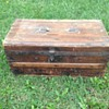 Small 1800's? Wooden Trunk