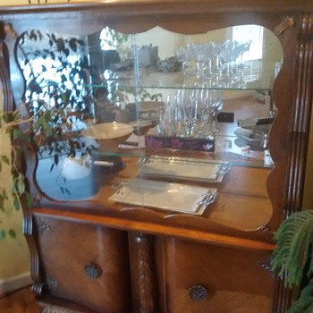My unknown china cabinet.