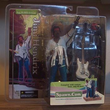 Jimi Hendrix figures! - Music Memorabilia