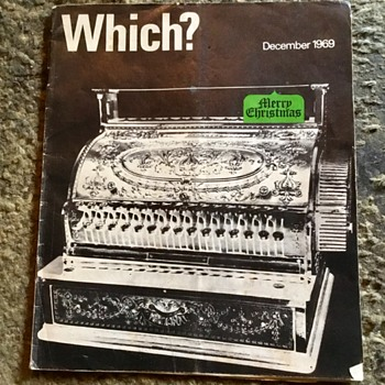 Which magazine December 1969, portable radios. - Paper