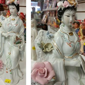 Far East figurine - Asian