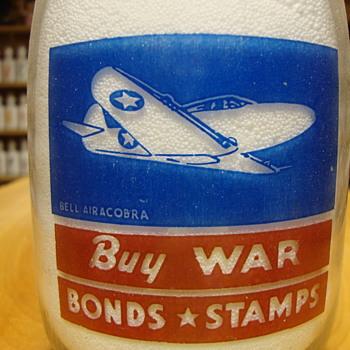 Dodd's Dairy with sealtest Emblem War Slogan......