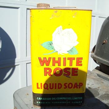 liquid soap  from white rose  - Petroliana