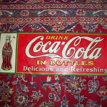 Coca-Cola sign - Coca-Cola