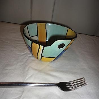Art Pottery Bowl - Pottery