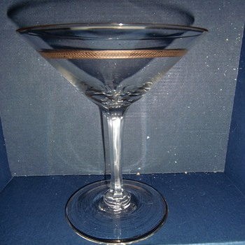 Czechoslovakian crystal stemware - Glassware