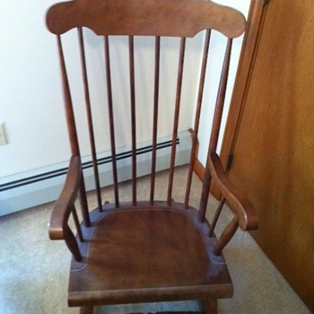Yugoslavian rocking chair