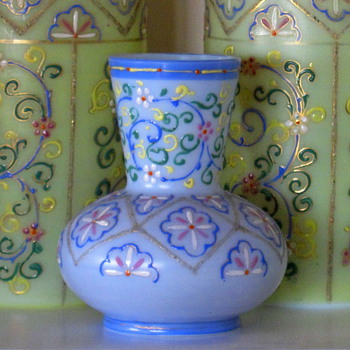 "MARKED.. MYSTERY MYSTIC ""EASTERN STYLE"" VASE!! - Art Glass"