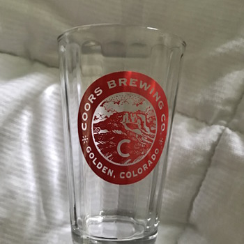 70's Coors tasting glass - Breweriana