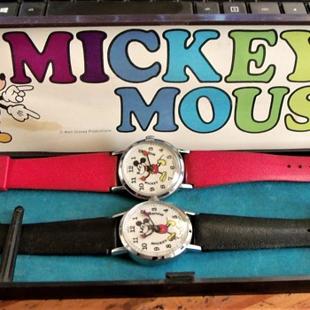 For Wandlessfairy....The Pie-Eyed Mickey Mouse Bradley Wristwatch - Wristwatches