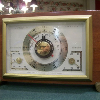 Airguide Desk Barometer - Tools and Hardware