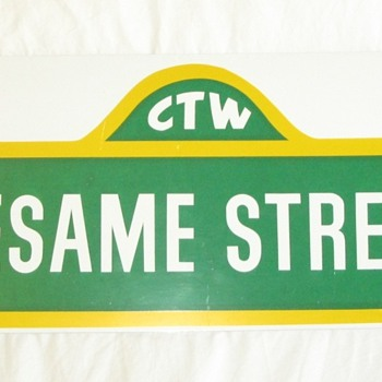 Sesame Street Sign - Signs