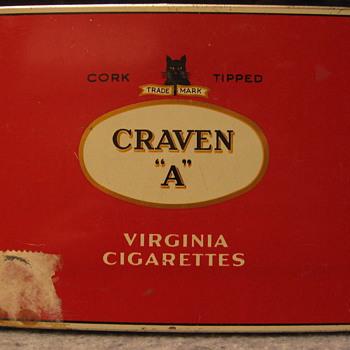 Cigarette Tins - Tobacciana