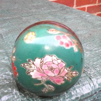 My opium pipe enamel bowl - Asian