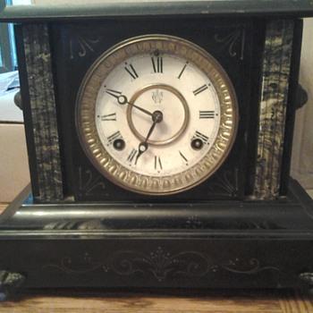 great-grandmother's mantel clock - Clocks