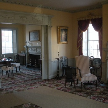The Gardner-Pingree house  - Furniture