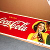 1941 Coca-Cola Boy and Girl Sign