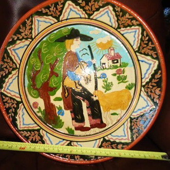 platter from? $3.50 Gospel thrift store  need help! - Pottery