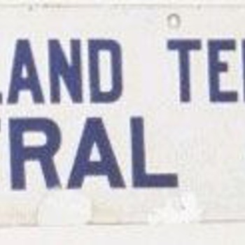 New England Tel. & Tel. Co. Central Office Sign - Signs