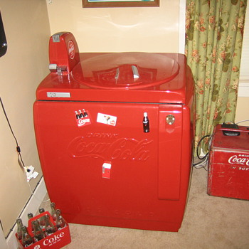 v-59 coke machine - Coca-Cola