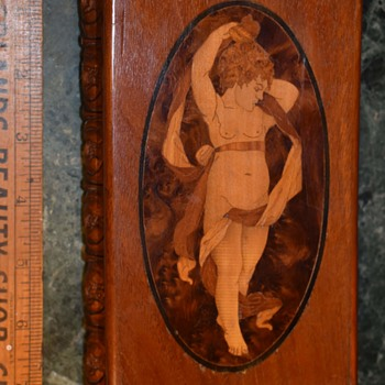 Inlaid Wooden Box - Furniture