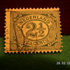 Vintage Nederlands 2 1/2 Cent Stamp ~ Used