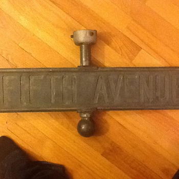 Fifth avenue street sign - Signs
