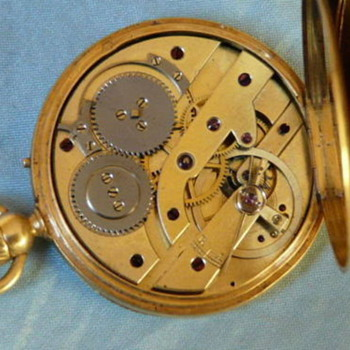 Louis Raby antique pocket watch - Pocket Watches