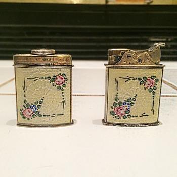 Ladies Evans Lighter Set ca 1930 - Tobacciana