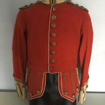 WWI Highland Light Infantry Officer's Full Dress Doublet  - Military and Wartime