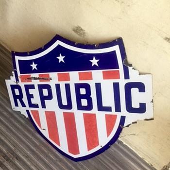 Republic Gasoline - Advertising