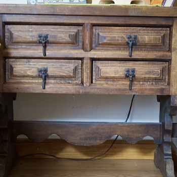 Two Jacobean Tables