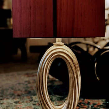 Ribbed Spiral Lamp - Lamps