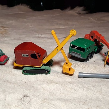 Manly Manual Mechanized Matchbox Monday M-4 Ruston-Bucyrus Excavator 1959-1964 - Model Cars