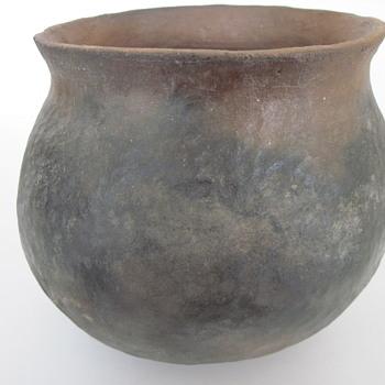 Early Plain Ware Pot - Pottery