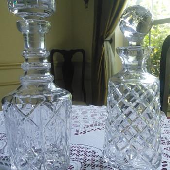 Whiskey Decanters - Bottles