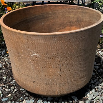 Architectural-type Pottery Planters - Pottery