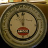 OLD AMACO GAS STATION CLOCK