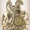 """Theodore Roosevelt """"Rough Riders"""" Clock, ca. 1899"""