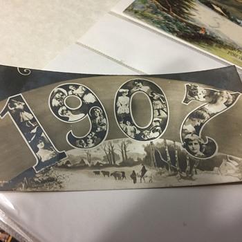 1907 post card unused - Postcards