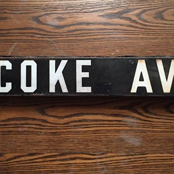 Vintage 1920's Porcelain Enamel Los Angeles Street Sign - Signs