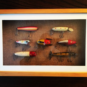 Antique fishing lures - Fishing