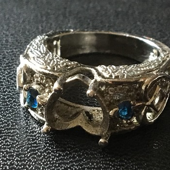 Old silver ring  - Silver