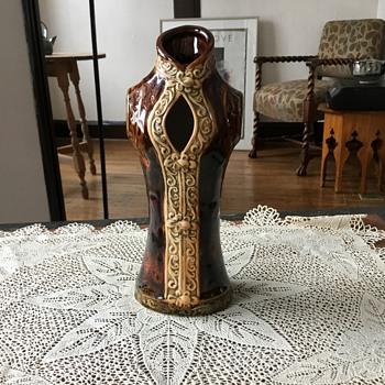 Interesting bodice vase - Pottery