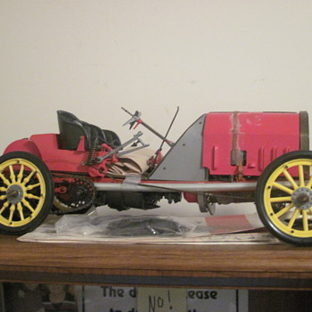 Grand Prix De France 1907 Fiat 1/8-scale - Model Cars